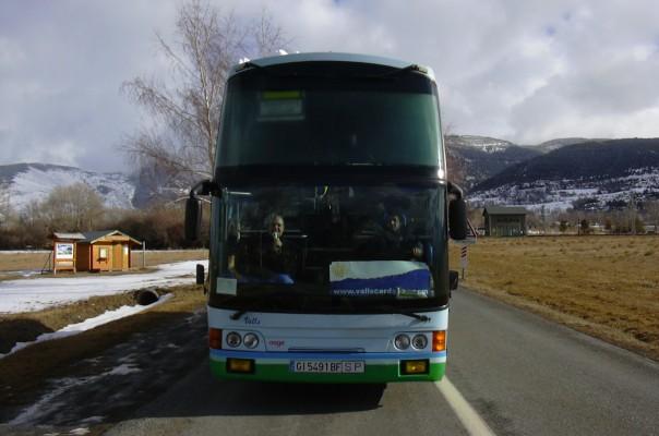 PACK TRANSPORT + ACOMPANYANTS A SORTIDES ESCOLARS